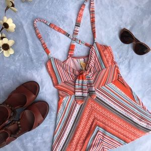 Free People Patterned tank
